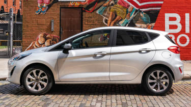 Ford Fiesta Trend - side static