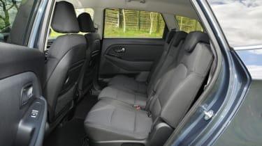 Used Kia Carens - rear seats