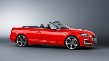 New Audi S5 Cabriolet 2017 side