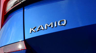 Skoda Kamiq - boot badge