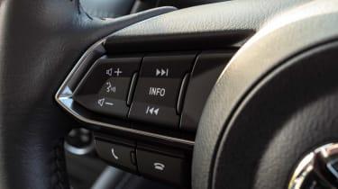 Mazda 2 - steering wheel controls