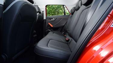 Audi Q2 - back seats