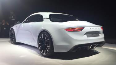 Renault Alpine Vision concept - show reveal rear quarter
