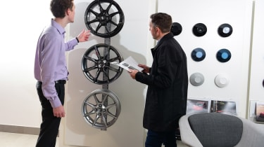 Mazda 3 Skyactiv-X long termer - first report showroom wheels