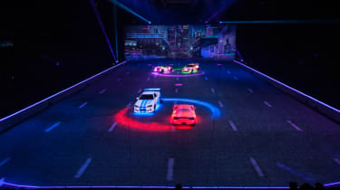 Fast and Furious Live stage size