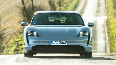 Porsche Taycan RWD - full front