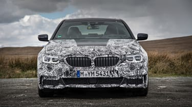 BMW 5 Series prototype 2016 - front
