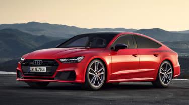 Audi A7 Sportback Hybrid - front static