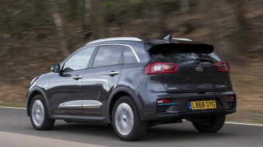 Kia e-Niro rear tracking