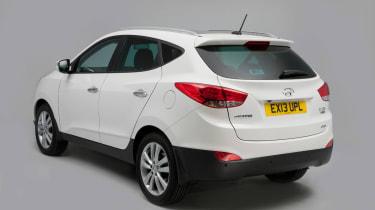 Hyundai ix35 used car guide 2013 rear quarter