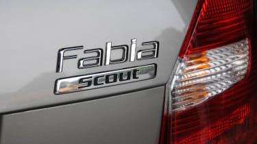 Skoda Fabia Scout badge