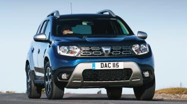 Dacia Duser 4x4 - front cornering