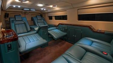Becker Ford Transit Jet Van rear seats interior