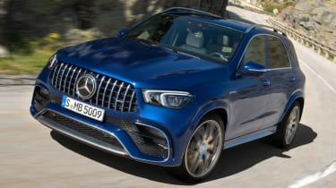 Mercedes-AMG GLE 63 S - front tracking