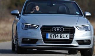 Audi A3 Cabriolet front action