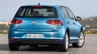 Volkswagen Golf 1.4 TSI rear