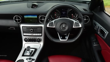 Mercedes SLC 250d - interior