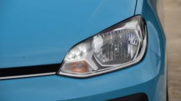 Volkswagen up! - front light detail