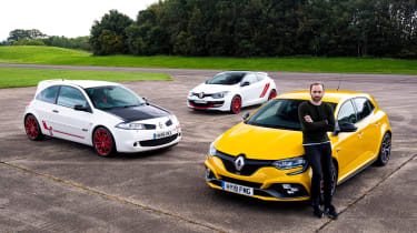 Renault Megane RS Trophy long-term review - group main