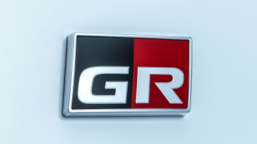 Toyota GR Yaris - GR badge