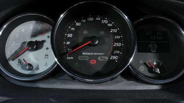 Renaultsport Megane 265 dials