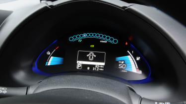 """<p class=""""p1"""">The readouts on the dash can help you drive as economically as possible and can help show you where you are wasting energy.</p>"""