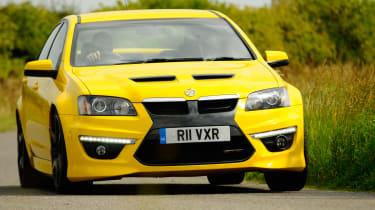 Vauxhall VXR8 GTS front cornering