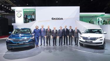 Skoda Kodiaq - design team