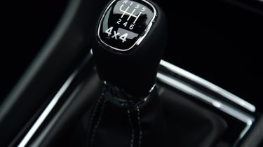 skoda karoq sportline gearstick