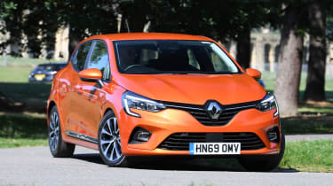 Renault Clio Long termer - front static