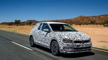New Volkswagen Polo 2017 prototype