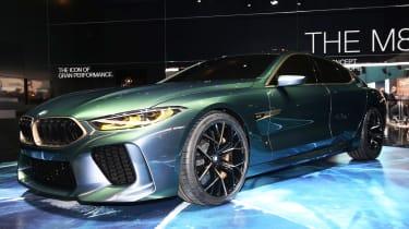 BMW M8 Gran Coupe - Geneva front