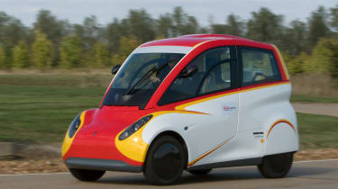 Shell Project M city car - front cornering 3