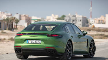 Porsche Panamera GTS - rear static