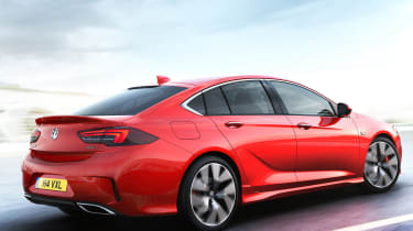 New Vauxhall Insignia GSi - rear