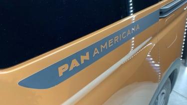 VW Caddy Pan Americana - badge reveal