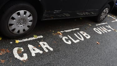 Ultimate guide to car sharing - car club parking space