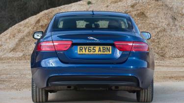 Used Jaguar XE - full rear