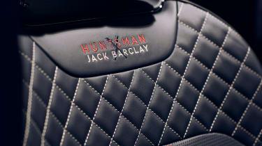 Bentley Bentayga Huntsman - seat
