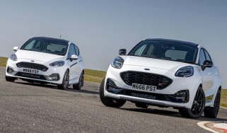 Ford Puma ST Mountune and Ford Fiesta ST Mountune