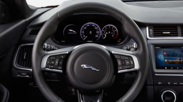 Jaguar E-Pace - steering wheel