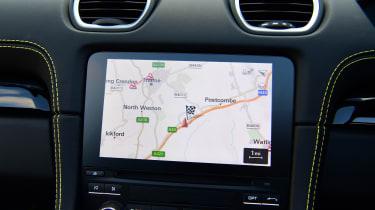 Porsche Boxster T - navigation
