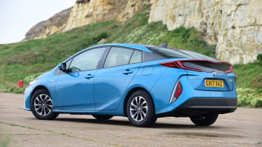 Toyota Prius Plug-in - rear static