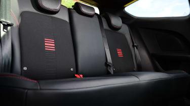 Ford Fiesta ST-Line rear seats