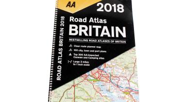 AA Road Atlas Britain 2018