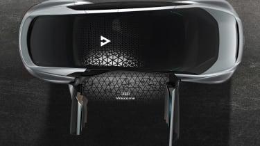Audi Aicon concept - interior detail