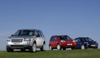 Compact SUV group shot