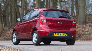 Ford Ka+ - rear cornering