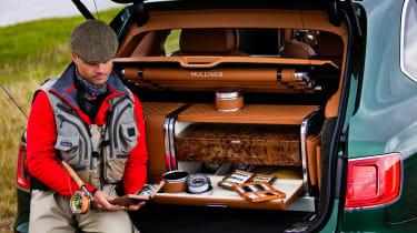 Bentley Mulliner Fishing kit man in boot