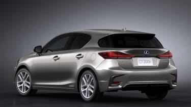 2018 Lexus CT facelift rear quarter